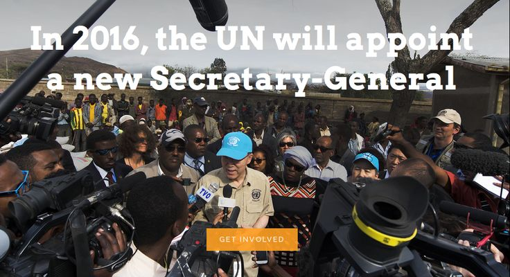 The President of the General Assembly (PGA) is organizing informal dialogues between UN Member States and SG candidates starting in April 2016. The Office of the PGA has requested UN-NGLS to facilitate a process with civil society to provide questions that can be asked to candidates during these dialogues.  SUBMIT YOUR QUESTIONS IN WRITING, VIDEO OR AUDIO 26 FEBRUARY to 20 MARCH  For more information: http://unngls.org/UNSGcandidates