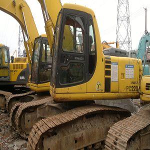 Used Excellent Komatsu Excavator PC220-6