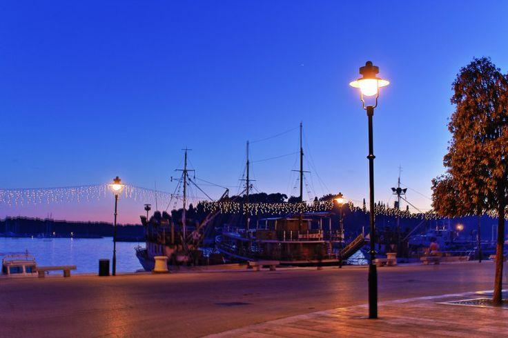 Rovinj port