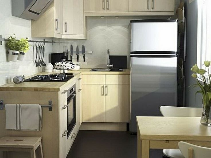 Kitchen: Small Kitchen With Smart L Shaped Kitchen Design Part 51