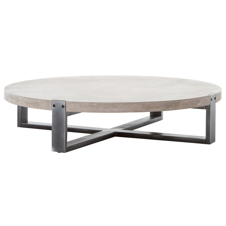 Garrison Beton Round Coffee Table FHVBNACT415 389