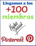 Muchas gracias a nuestros primeros 100 seguidores en Pinterest. Seguiremos colgando fotos y esperemos que os gusten!  www.came3.com  #came3 #reformas #lallagosta #barcelona #mamparas #cocinas #baños #decoración #interiores #ideas #lamparas #kitchen #diseño #design #bathroom #griferia #frabricacionamedida