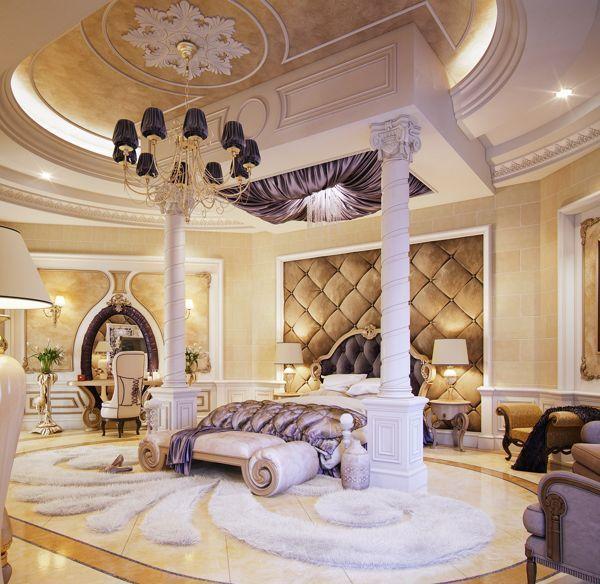 25 atemberaubende Luxus-Master-Schlafzimmer-Designs