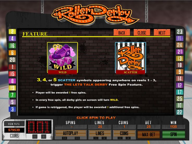#Play Roller Derby video slot - https://www.wintingo.com/games