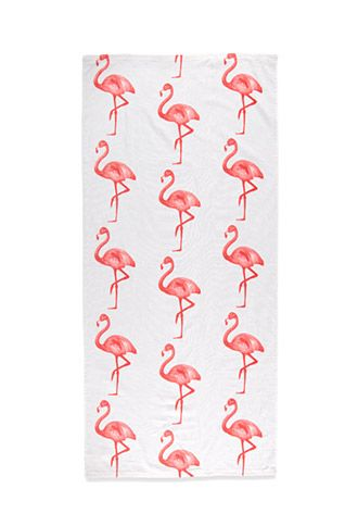 Flamingo Beach Towel | Forever 21 | #f21home