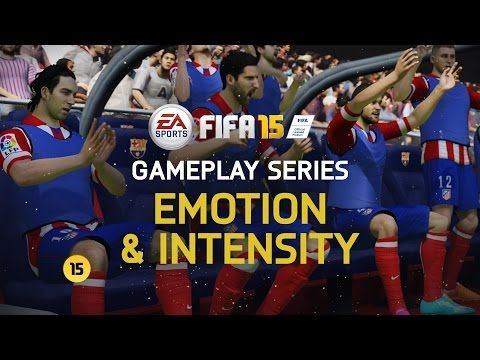 FIFA 15 Gameplay Features - Emotion and Intensity