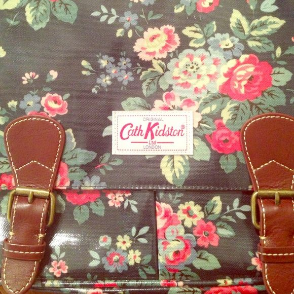 Cath Kidston London Bag Brand new cath Kidston bag. Adjustable straps. Front two buckles. Once opened there are two front pockets. Interior zips and has 3 compartments. Cath Kidston London Bags