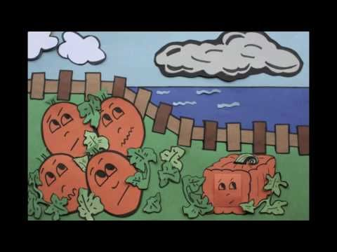 My new favorite children's story! This is a great video that's related to Spookley the Pumpkin story