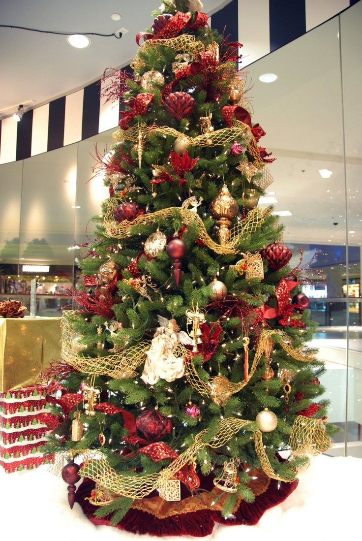 Amazon.com - 9' Christmas Tree Decorating Kits (Victorian ...
