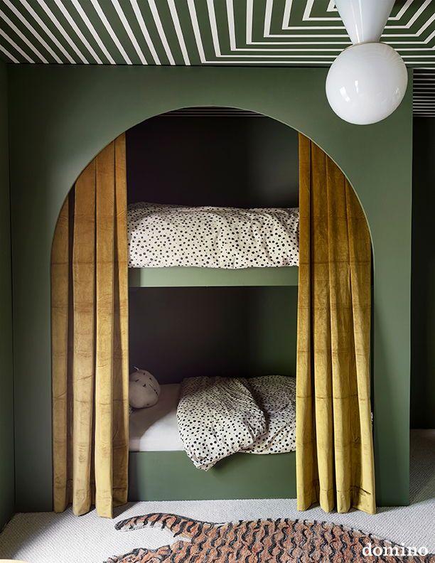 Sarah Sherman Samuel S Grand Rapids Home Is The Stuff Of Reno Dreams Bunk Bed Designs Modern Bunk Beds Diy Bunk Bed