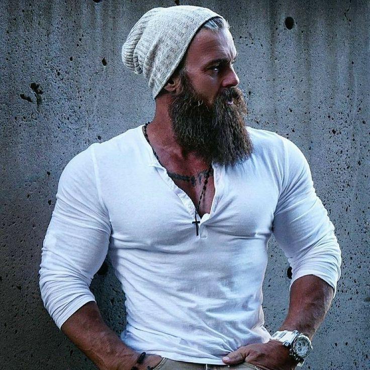 Фото брутальных бородатых мужиков