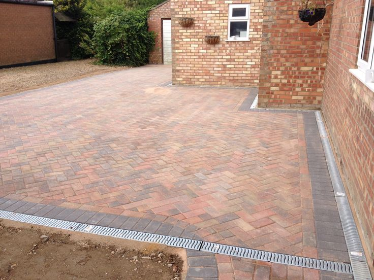 Block paving driveway by our member Top2bottom home improvements.