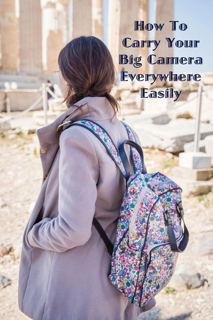 Camera Bag.  Why you don't need one. #camerabag #bag #camear