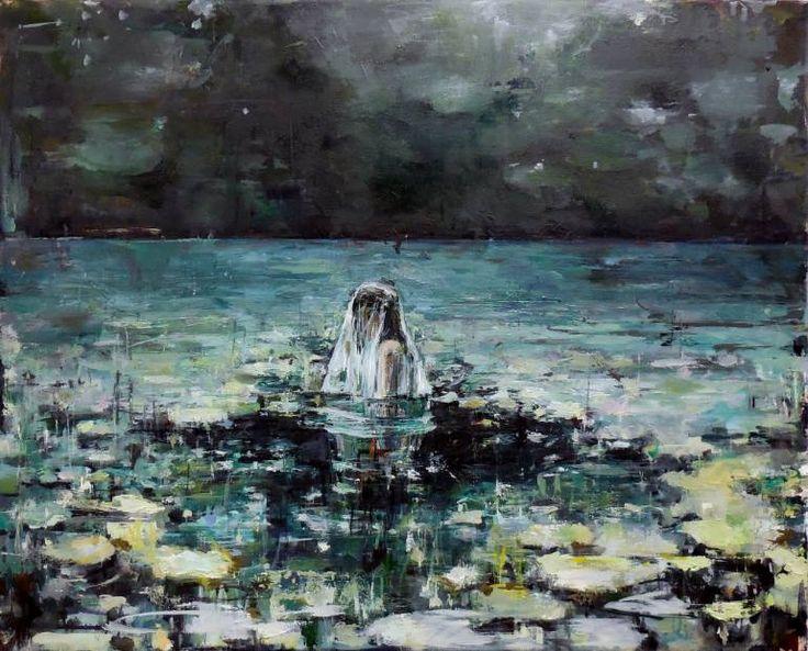 "Saatchi Art Artist HYUNJU KIM; Painting, ""That Night"" #art"