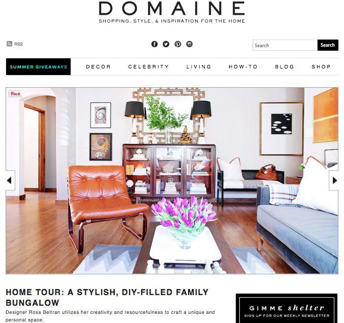 Rosa Beltran Design Domaine Home House Tour Starter Diy Diys Interior Designer