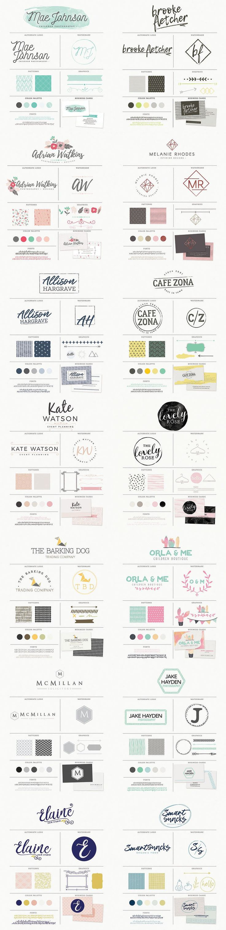 Essential Branding Kit by 7th Avenue Designs on @creativemarket