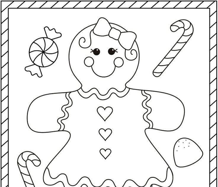 Gingerbread Girl Christmas Coloring Pages Christmas Christmas Coloring Cards Christmas Coloring Cards Christmas Coloring Books Free Christmas Coloring Pages