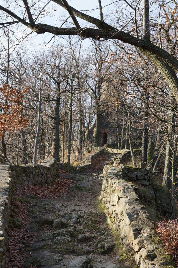 Ruiny Zamku Stary Książ - Listopad 2016