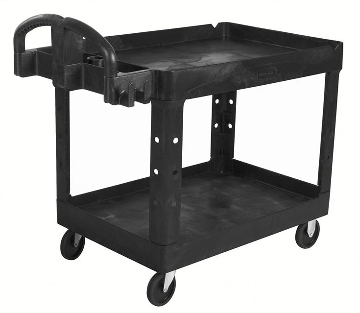 Rubbermaid Commercial Heavy Duty Utility Cart