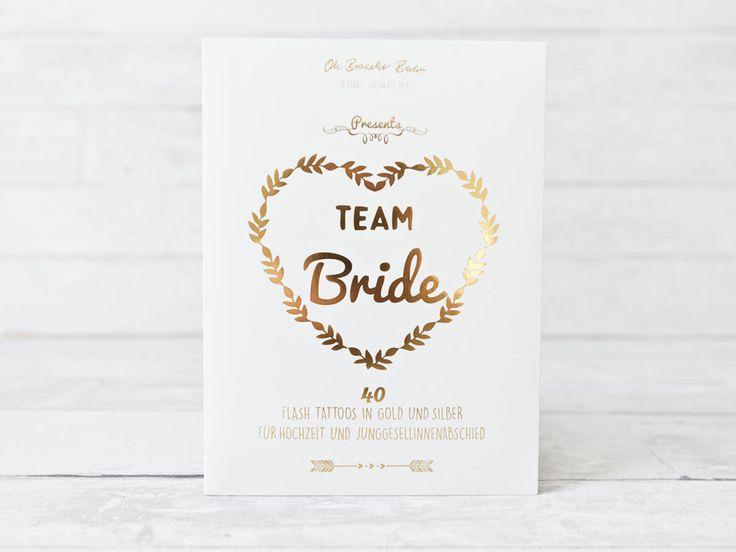 #teambride #tattoo Team Bride! Schicke Tattoos und Schmuck von Oh Bracelet Berlin | Hochzeitsblog - The Little Wedding Corner