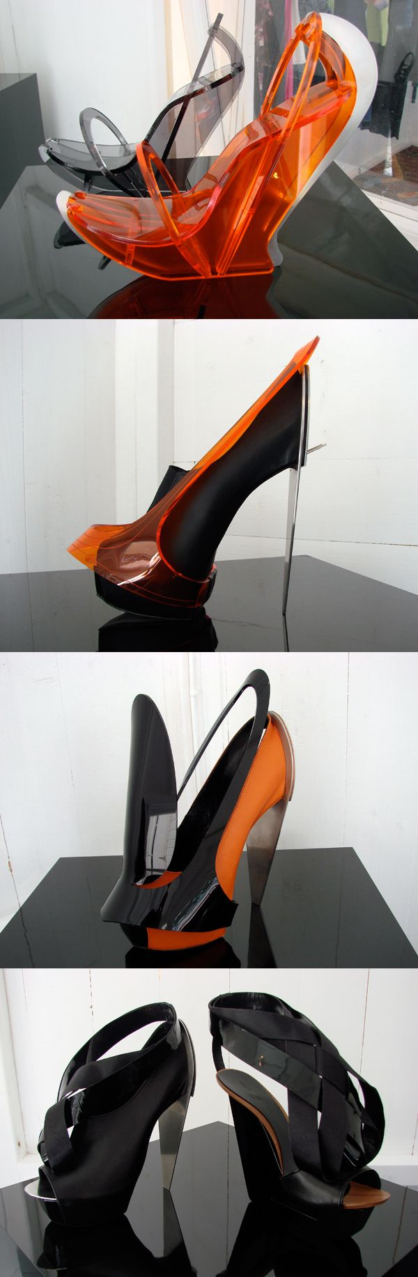 Chau Har Lee SS11 (more avant-garde shoes located on Avant-garde/Unexpected board)