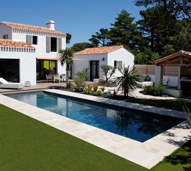 Piscine sur Mesure - Les réalisations Caron Piscine Pinterest - location maison cap d agde avec piscine