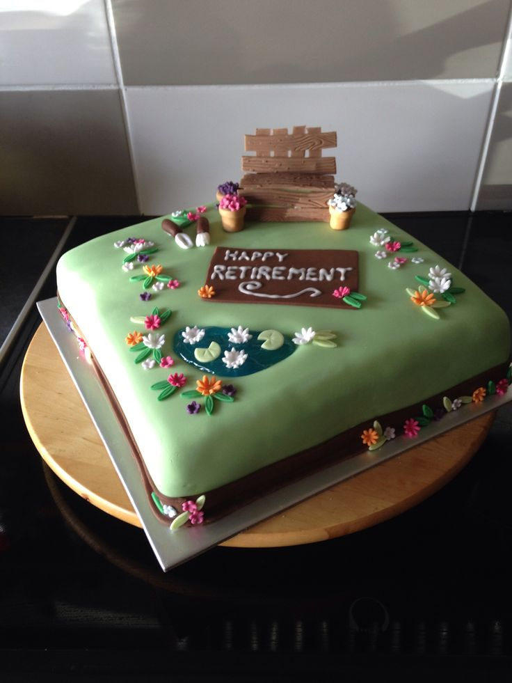 17 best images about retirement cake on pinterest