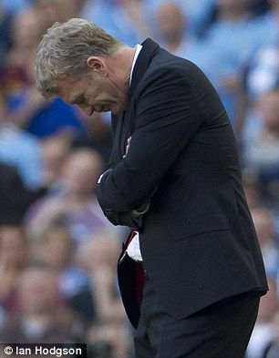 David Moyes was sacked after 10 months as Manchester United boss