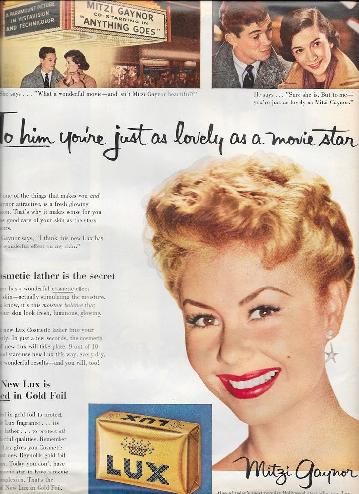 0 Mitzi Gaynor for Lux soap, 1956