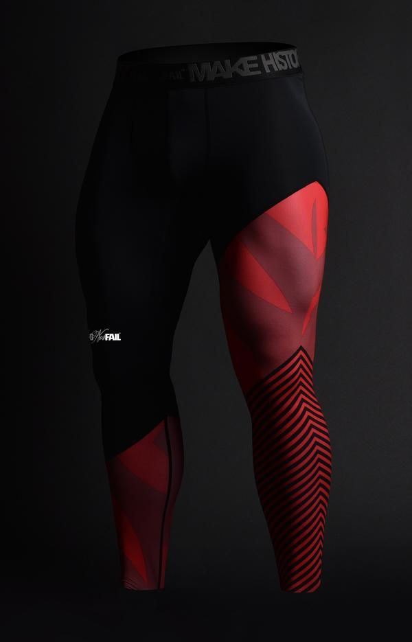 PRO.FORM MENS COMPRESSION PANTS