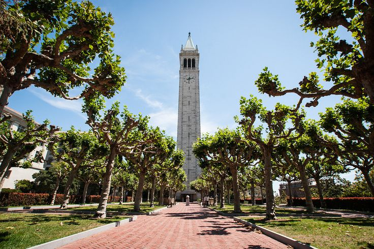 Sather Tower, UC Berkeley, opposite SF
