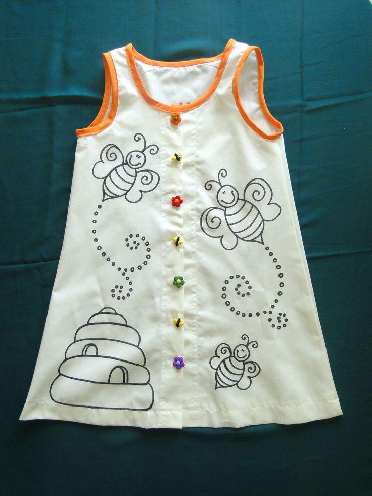 My Little Honey-Bee Children clothing. Sipariş için: formylittledesigner@gmail.com