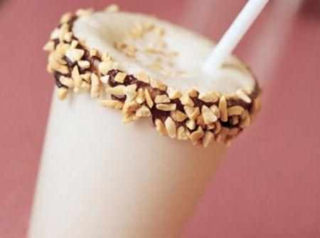 Milkshake de Paçoquinha -