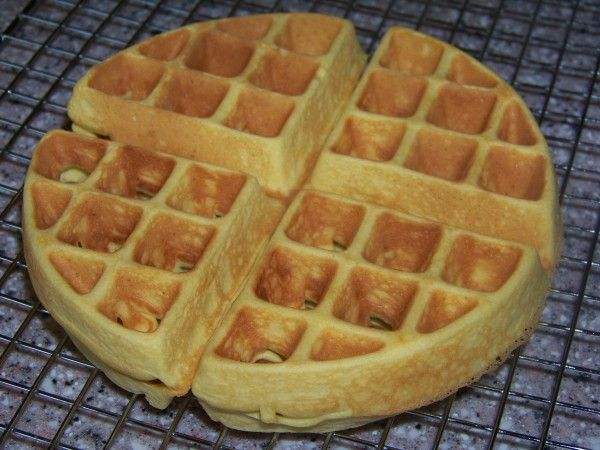 Coconut Flour Belgian Waffles - Low carb recipes suitable for all low carb diets - Sugar-Free Low Carb Recipes