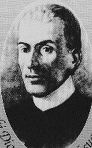 Illustration of Blessed Domenico Lentini (artist unknown)