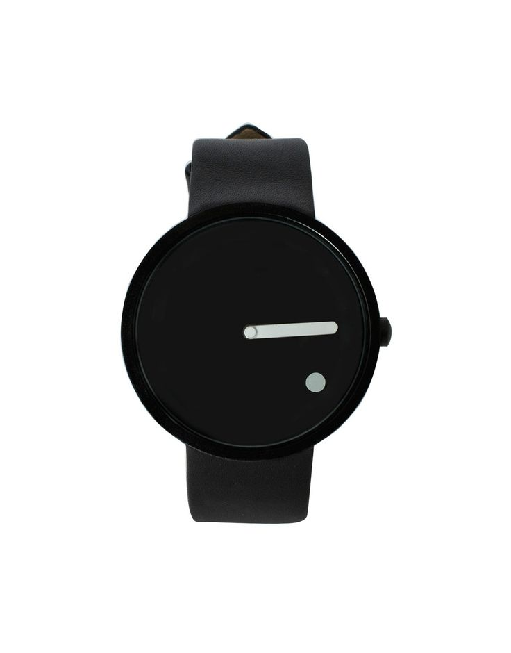 RYU Minimal Watch Black