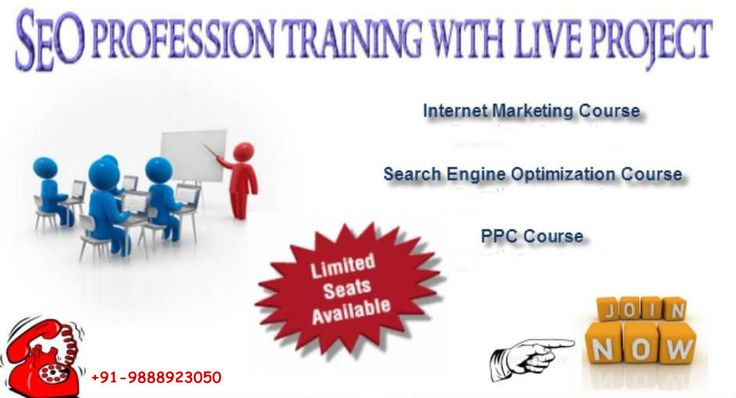 DakshaSEO offers ideal training program in Chandigarh for web promotion, SEM, PPC  online marketing. Our specialist instructor will help you to find out SearchEngineOptimization tips and tricks and how you can attain acquire top page rankings in Google. Discover more the best ways to produce business, leads and customers through our internet marketing.