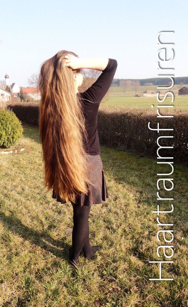 Lange Haare Im Alltag Haartraum Frisuren Und