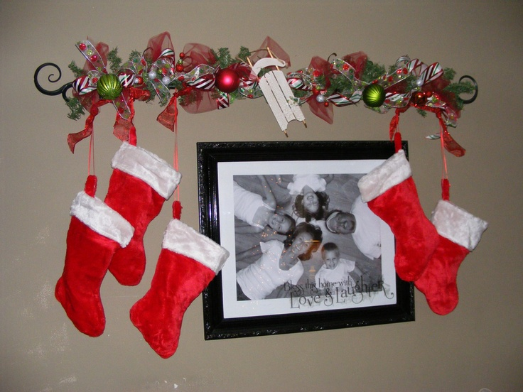 christmas stocking mantle hangers uk disney holders only improvised hanger