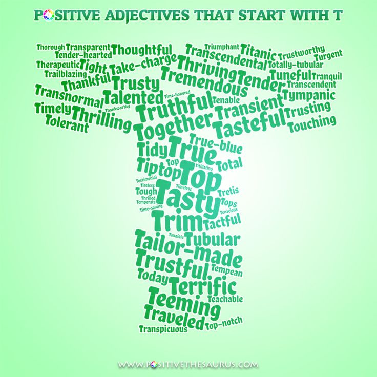 6 letter words starting with t 50 best positive adjectives positive descriptive words 1059
