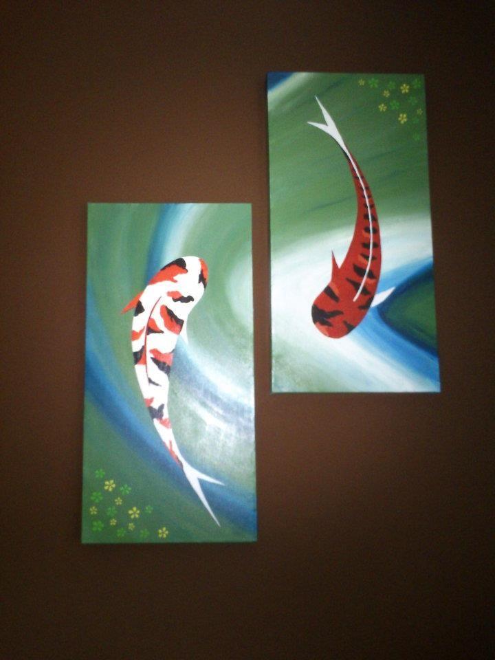 koi fish by vladena13.deviantart.com on @DeviantArt