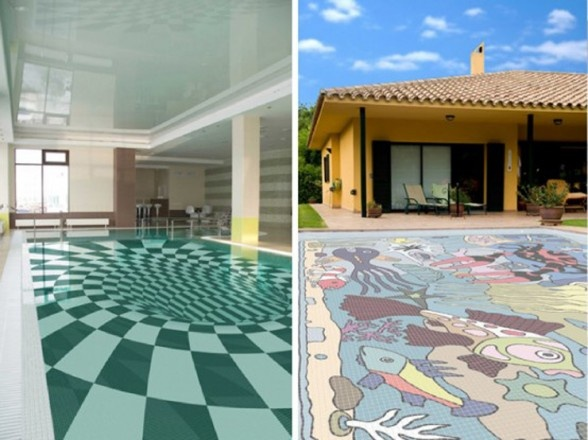 An Amazing New Innovation Swimming Pool Design From Glassdecor4  Pool Tile Design Ideas