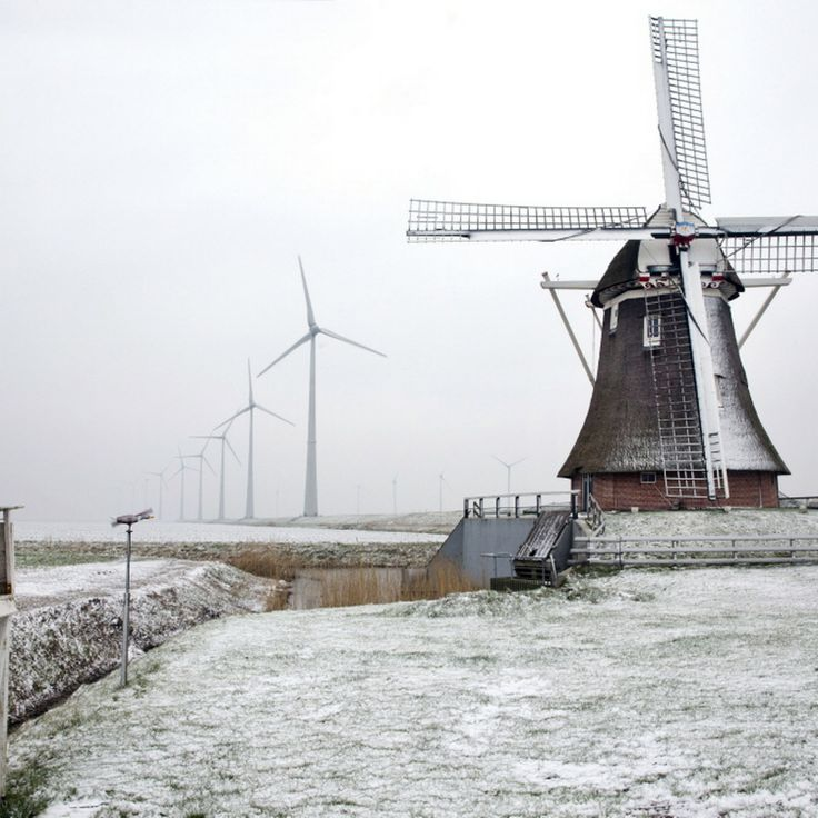26 januari 2014: De eerste sneeuw in het noorden van Nederland. Opnieuw pak sneeuw in Groningen