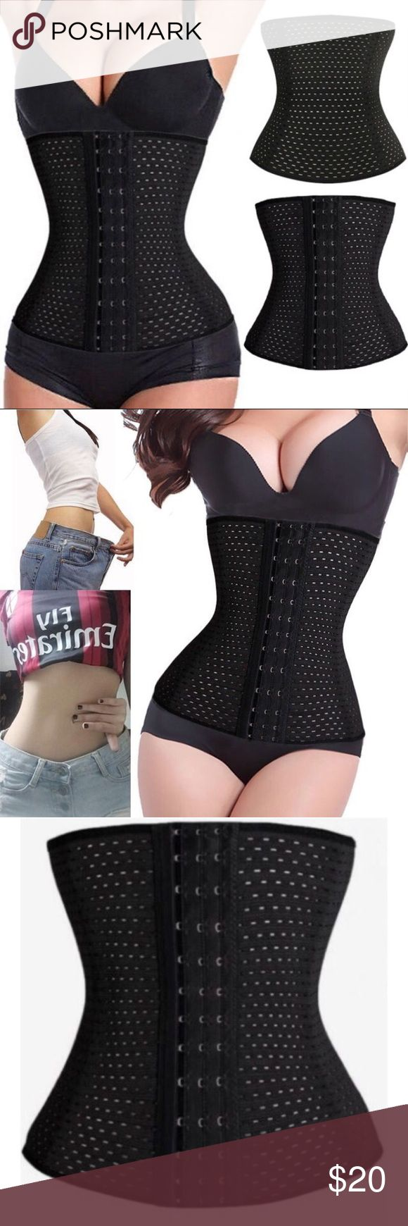 Waist Trainer 🎀 Brand New 🎀 Never Used Waist Trainer 🎀 Brand New 🎀 Never Used • Makes Stomach flat                                                                 • Help Lose inches  • Help Lose Weight • Suppresses Hunger • Improves Posture • Drastically Reduces Back Pain • Wear under your clothes for a instant weight loss look  • You will look slimmer once you put it on • Super comfortable lululemon athletica Intimates & Sleepwear Shapewear