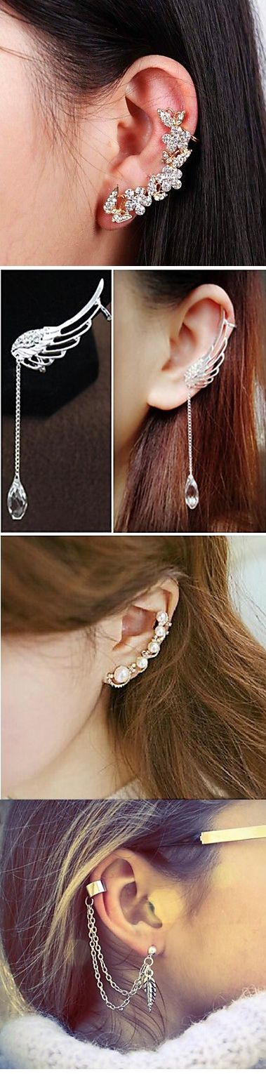 Jewelry trend 2015. Charming ear cuffs. Check them out, click on the picture.