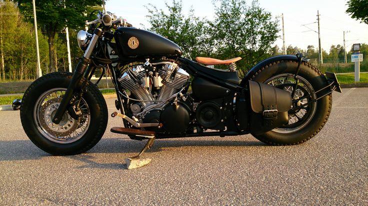 yamaha roadstar bobber motorcycle pinterest bobbers