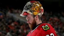 Scott Darling to Miss Time With Injury, Quenneville Says - http://www.nbcchicago.com/news/local/blackhawks-scott-darling-upper-body-injury-quenneville-415385973.html