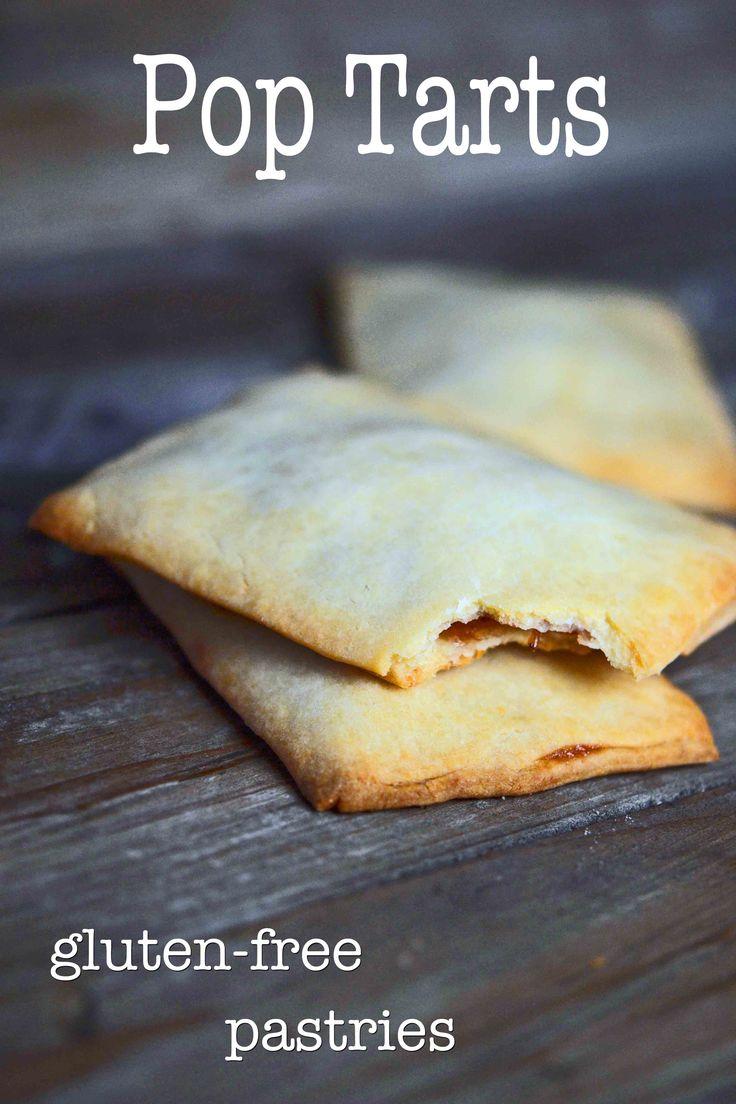 Gluten-free Pop Tarts - put 'em in the toaster!