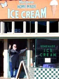 Mariposa Ice Cream, hand made deliciousness for over 20 years.  The BEST ice cream in San Diego! Try the Mexican chocolate & coffee shake.