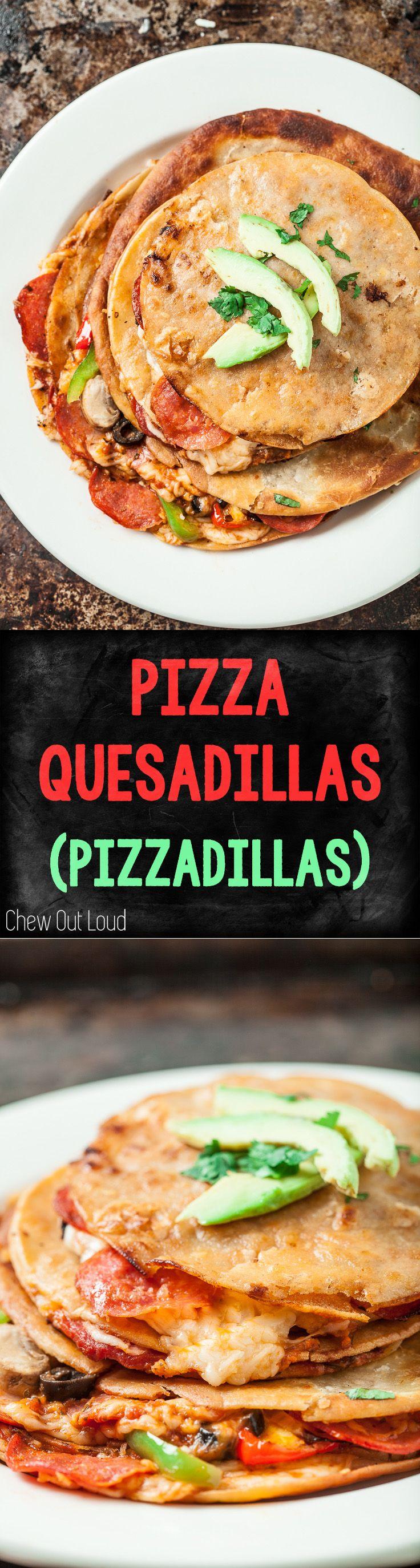 Pizza Quesadillas (Pizzadillas) | Recipe | Pizza ...